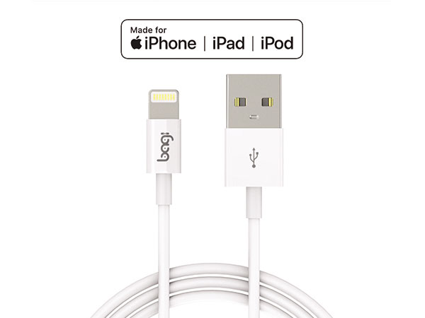 cáp sạc lighnting mfi bagi iphone ipod, ipad