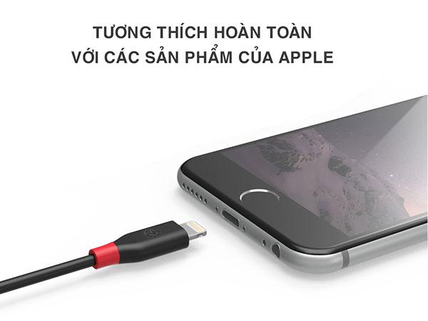cáp sạc lightning iphone cb-ia15 dài 2m bagi