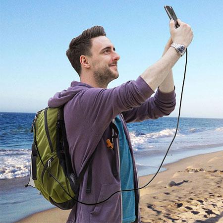 cáp sạc lightning iphone dài 2m bagi cb-ia15