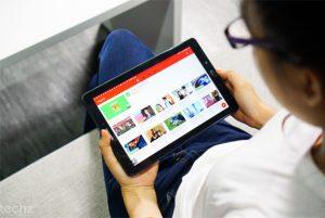 tiết kiệm pin cho tablet