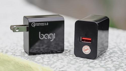 Củ sạc nhanh Bagi 3.0 tiêu chuẩn châu âu