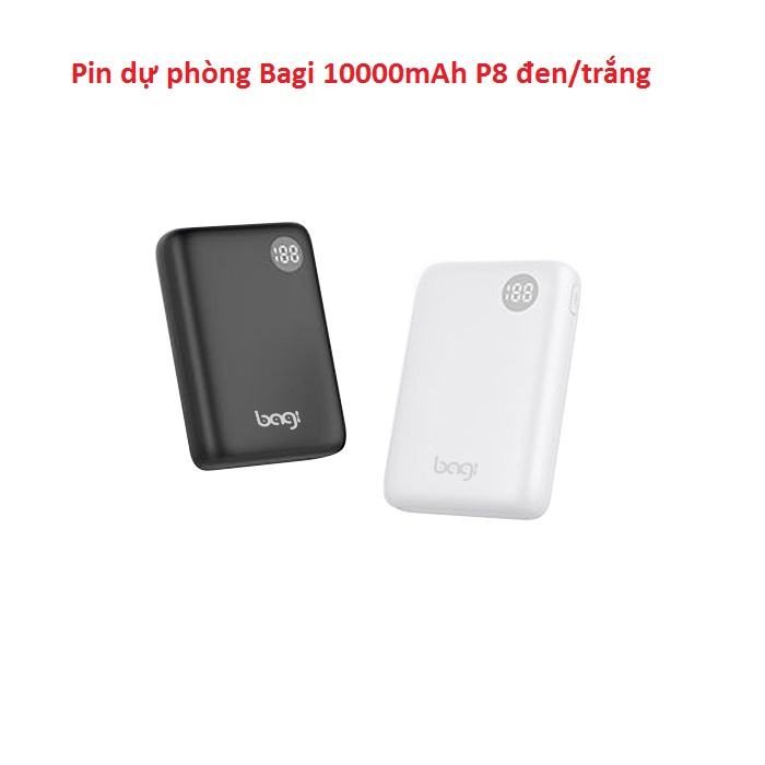 Pin dự phòng P8 10.000mAh
