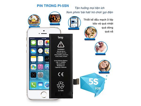 Pin trong điện thoại iphone 5S